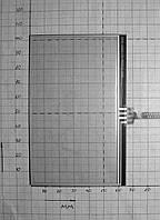 GPS тачскрин 4.3'  103-66 мм  0205-A302C-54-P070517-0999 XA302A01 0507 (#2610)