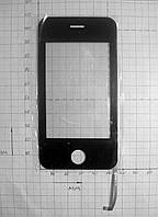 Сенсор тачскрин стекло China iPhone 4G YL1086ABO 109*56 мм (#2780)