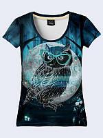 Великолепная женская футболка Я вижу тебя с классным рисунком XS