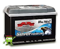 АКБ SZNAJDER Silver Premium 6СТ- 80Ah 760A R