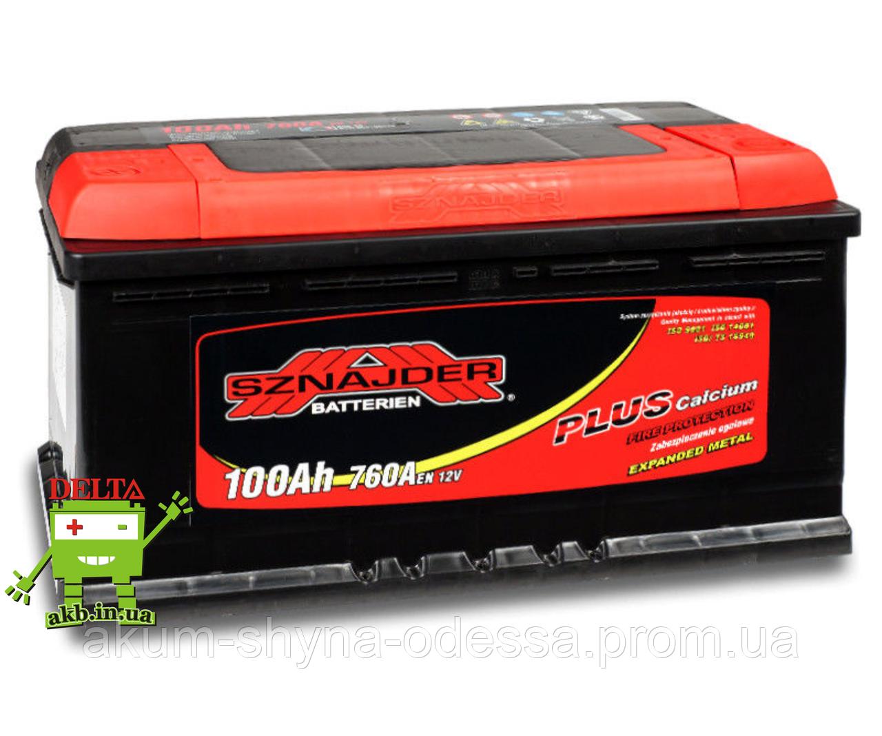 АКБ SZNAJDER Plus 6СТ-100Ah 760A R