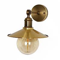 Настенно-потолочный светильник купол Loft Steampunk [ on Wall Ceiling Brass ], фото 1
