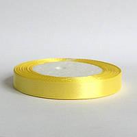 Лента атласная 1,2 см  солнечный желтый, фото 1
