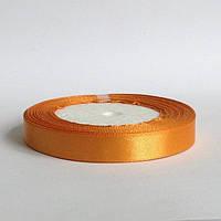 Лента атласная 1,2 см  золотистый