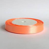 Лента атласная 1,2 см   персиковый, фото 1