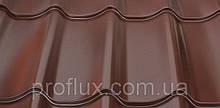 Металлочерепица монтерей 0,4 8017(корничневый)