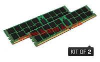 Оперативная память Kingston 16GB 2133MHz DDR4 Non-ECC CL15 DIMM (Kit of 2) 1Rx8 (KVR21N15S8K2/16)