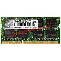 Оперативная память Transcend 4 GB SO-DIMM DDR3 1333 MHz (TS4GAP1333S)