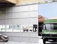 Откатные стальные ворота Hormann FST MZ  2,8м*2м