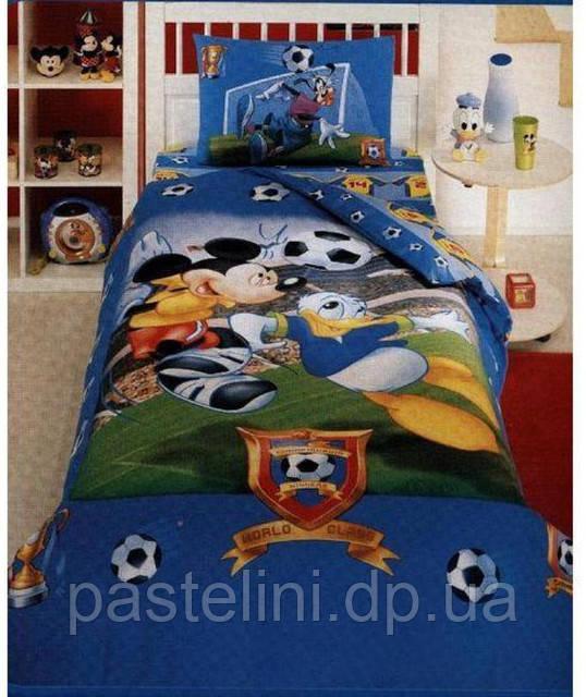 ТАС Детское постельное бельё Mickey Championship (Микки Чемпион)