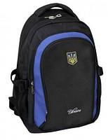 """Надежный рюкзак для молодежи с национальной эмблемой CFS 17"""", """"National Emblem"""" 820 CF85623 черный"""