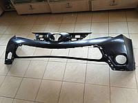 Передний бампер на Toyota RAV4 (2012-2015)