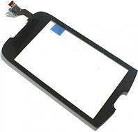 Сенсор (тач скрин) SAMSUNG Galaxy 580 I5800 black (оригинал)