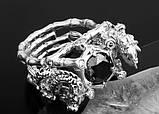 Перстень мужской серебряный Китайские Драконы КЦ-69 Б, фото 3