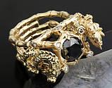 Перстень мужской серебряный Китайские Драконы КЦ-69 Б, фото 5