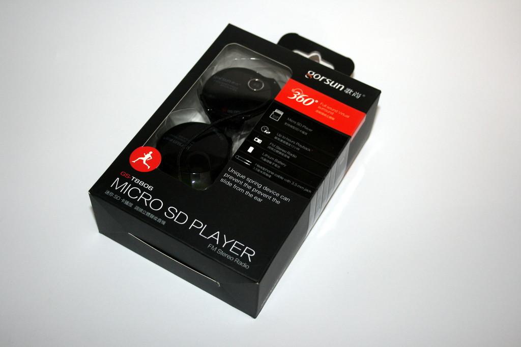 Наушники для спорта с MP3 плеером Gorsun GS-T8806 (оригинал)