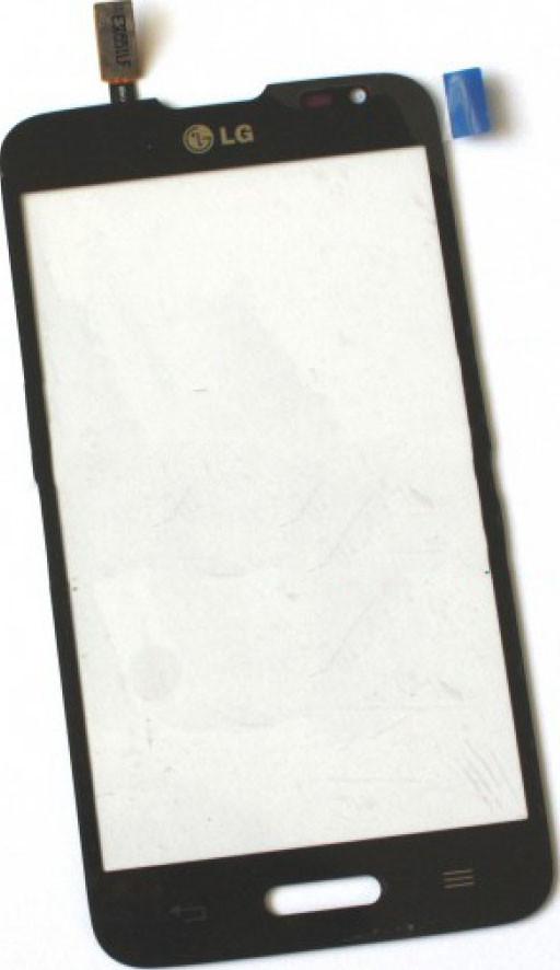 Сенсор LG Optimus L70 D320, D321, MS323 black (оригинал), тач скрин дл