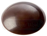 Форма для шоколада Линза 35x35x9 мм Chocolate World 1847 CW