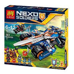 "Конструктор LELE 79239 Nexo Knight (аналог LEGO) ""Боевая машина Клэя"", 383 дет"