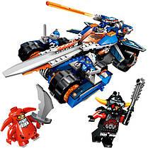 Конструктор Bela 10488 Nexo Knight (аналог LEGO 70315) «Устрашающий разрушитель Клэя», 379 дет, фото 3