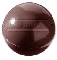 Форма для шоколада Сфера 30 мм Chocolate World 2022 CW