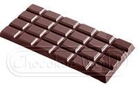 Форма для шоколада Шоколадная плитка 155x77x9 мм Chocolate World 2162 CW