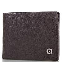 Кожаный коричневый мужской кошелек с зажимом для купюр KARYA (КАРИЯ) SHI0945-10FL