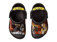 Кроксы детские Crocs Kids CC Star Wars Clog размер J3 (34-35 EU), фото 1