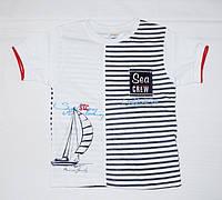 Детская летняя футболка для мальчика