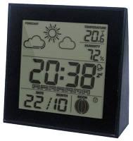 Цифровой термо-гигрометр с часами Т-06
