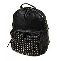 Рюкзачек женский черный с карманом
