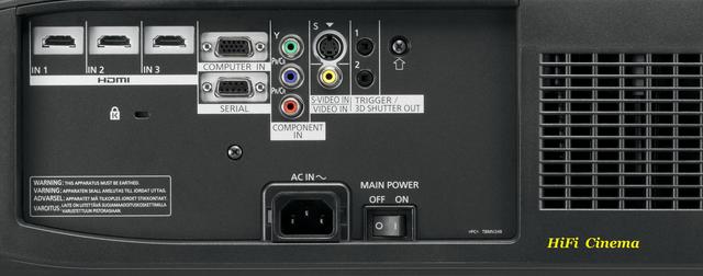 3D видео проектор Panasonic PT-AE8000EA Video Projector Full HD домашнего кинотеатра