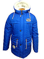 Куртка зимняя с капюшоном на мальчика парка 3301