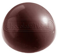 Форма для шоколада Полусфера 100x100x50 мм Chocolate World T00101