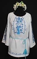 Ніжна жіноча вишита сорочка Сніжана