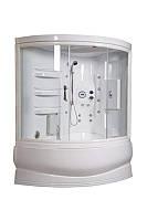 Гидромассажный бокс Doctor Jet Orata Lux 171x100/115 h224 с турецкой баней и подсветкой левосторонний