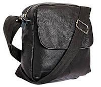Небольшая кожаная сумочка через плече