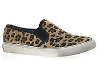 Стильные Модная и стильная женская обувь слипоны на танкетке и платформе с леопардовым принтом! Очень легкие и удобные!