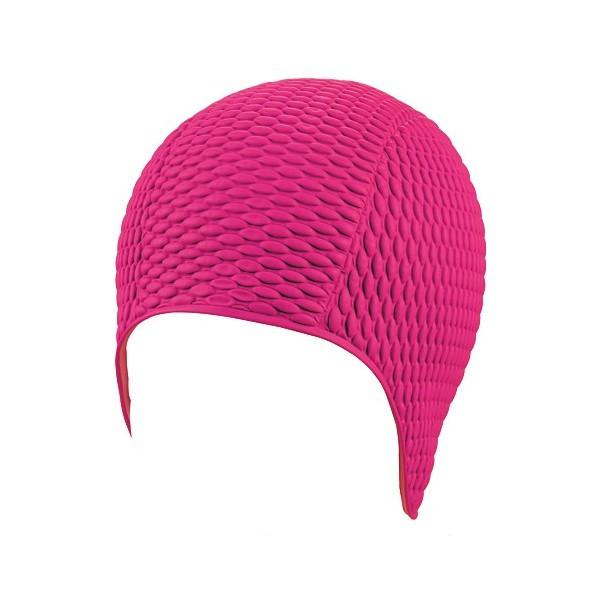 Женская шапочка для плавания BECO розовый 7300 4