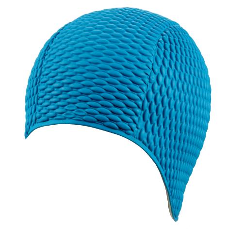 Женская шапочка для плавания BECO синий 7300 6