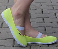 Мега удобные Женская спортивная обувь, кеды, конверсы, высокие, классические и низкие  желтого цвета! Очень легкие!