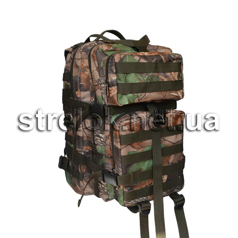 Рюкзак тактичний 45л лісовий камуфляж