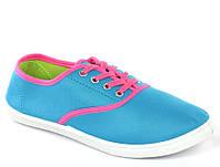 Стильные и удобные Женская спортивная обувь, кеды, конверсы, высокие, классические и низкие  голубого цвета!