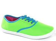 Стильные и удобные Женская спортивная обувь, кеды, конверсы, высокие, классические и низкие  салатового цвета!
