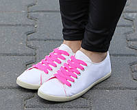 Стильные и удобные Женская спортивная обувь, кеды, конверсы, высокие, классические и низкие  белого цвета!