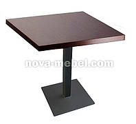 Стол для кафе Basic - столешница ДСП квадратная