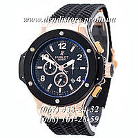 Часы Hublot Big Bang Classic Automatic Black-Gold-Black SSSH-1012-0150
