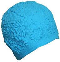 Женская шапочка для плавания BECO синий 7350 6