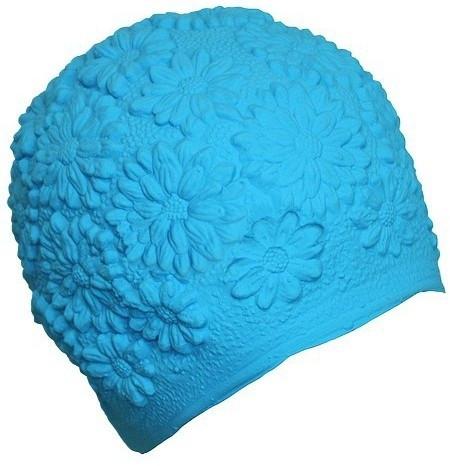 Жіноча шапочка для плавання BECO синій 7350 6