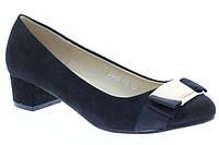 Елегантные туфли черного цвета на каблуке. Очень стильные!